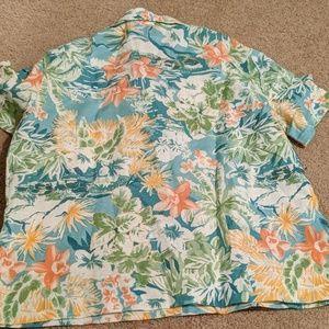 Reformation Tops - Reformation Holiday Shirt in Hawaiian Print